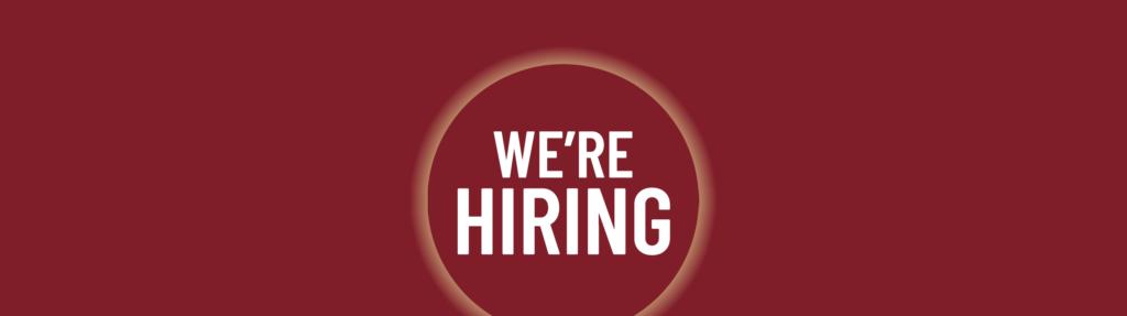 We're hiring article header